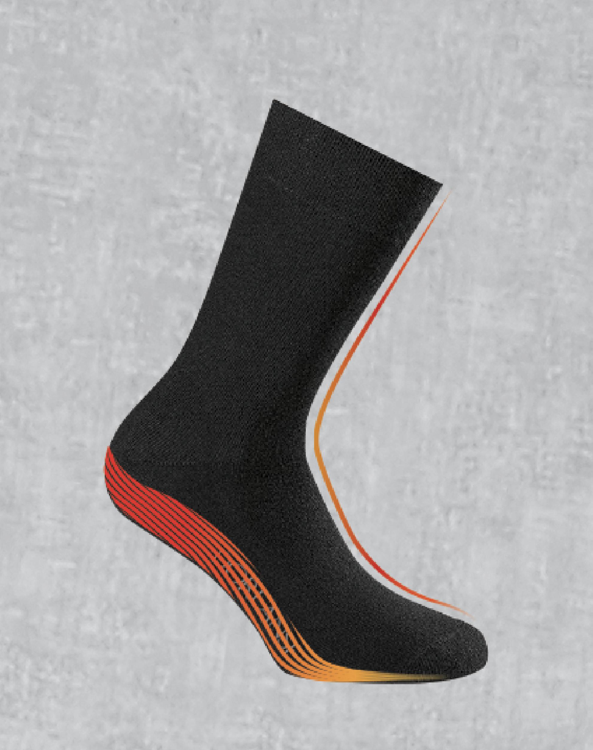 755 - Termal Havlu Çorap